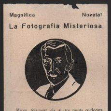 Francobolli: POSTAL, FRANCESC MACIA. LA FOTOGRAFIA MISTERIOSA, VER FOTO. Lote 114522607