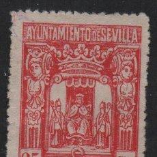 Sellos: SEVILLA, 25 CTS, SELLO MUNICIPAL, VER FOTO. Lote 114610103