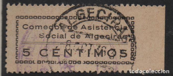CADIZ, 5 CTS, NEGRO, VER FOTO (Sellos - España - Guerra Civil - De 1.936 a 1.939 - Usados)