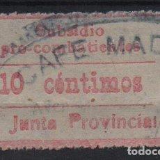 Sellos: MADRID, 10 CTS,ROSA, PRO-COMBATIENTES, VER FOTO. Lote 114965459