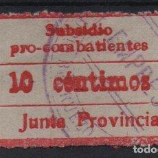 Sellos: MADRID, 10 CTS,ROJO, PRO-COMBATIENTES, VER FOTO. Lote 114965535