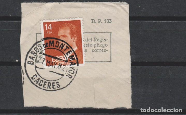 LOTE F2 MATA SELLOS BAÑOS DE MONTE MAYOR CACERES (Sellos - España - Guerra Civil - Viñetas - Usados)
