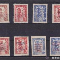 Sellos: TAFALLA ( NAVARRA ) BENEFICENCIA 1937 . SOBRECARGA , SIN DENTAR NUEVO * VIÑETA / LOCAL GUERRA CIVIL. Lote 116127331