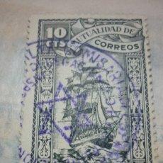 Sellos: MUTUALIDAD DE CORREOS CON MATASELLOS ALTA COMISARIA DE ESPAÑA EN MARRUECOS. Lote 116239963