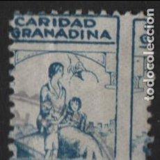 Sellos: GRANADA, 1 PTA, CARIDAD GRANADINA, VER FOTO. Lote 116314987
