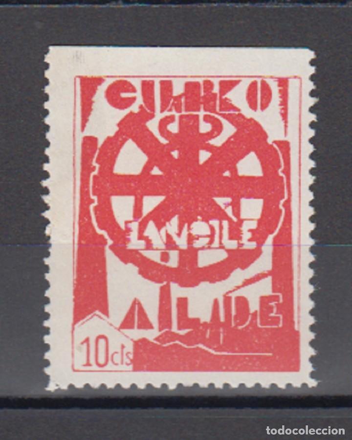 EUZKADI. EDIFIL 18 * (Sellos - España - Guerra Civil - Locales - Usados)