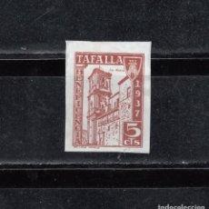 Selos: TAFALLA. BENEFICENCIA. 1937. 5 CTS.. Lote 117943719
