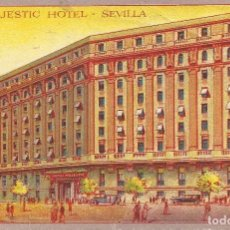 Sellos: POSTAL HOTEL SEVILLA ITALIA TROPAS VOLUNTARIAS ITALIANAS CTV GUERRA CIVIL 1939. Lote 118047955