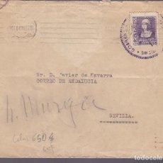 Sellos: CM2-16- CARTA SAN SEBASTIÁN- SEVILLA 1939. MATASELLOS CENSURA . Lote 118357671