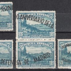 Sellos: ESPAÑA, 1938 EDIFIL Nº 789 / 790 ( * ) . Lote 118457455