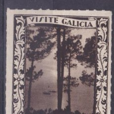 Sellos: CL8-15-VIÑETA VISITE GALICIA -VIGO - 50 X 38 MM . SIN GOMA . Lote 118598667