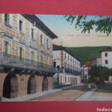 Sellos: POSTAL DE ELIZONDO CON FRANQUICIA MILITAR Y CENSURA.. Lote 119304564