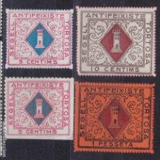 Sellos: CL8-30-GUERRA CIVIL. LOCALES. TORTOSA TARRAGONA . VARIEDAD. Lote 119543379