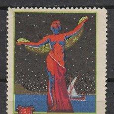 Sellos: VIÑETA DE LA FERIA DE BARCELONA 1929, CARTEL DE LA FERIA, NUEVA ***. Lote 119569107