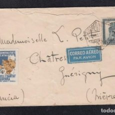 Sellos: 1936.- BARCELONA A FRANCIA. Lote 121038631