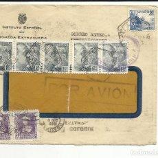 Timbres: CIRCULADA 1938 DE MADRID A SANTIAGO DE CHILE CON CENSURA MILITAR VER FOTO. Lote 121450391