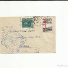 Sellos: CIRCULADA 1938 DE JEREZ DE LA FRONTERA A SEVILLA CON CENSURA MILITAR. Lote 121450671