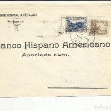 Sellos: CIRCULADA BANCO HISPANO AMERICANO 1937 DE BURGOS A SEVILLA CON CENSURA MILITAR VER FOTO. Lote 121589899