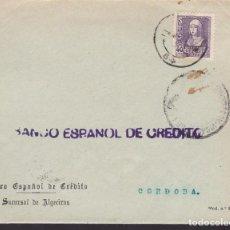 Sellos: F24-78-CARTA ALGECIRAS CÁDIZ 1939. LOCAL Y CENSURA. Lote 121937467