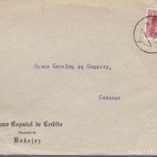 Sellos: F24-95-CARTA BADAJOZ 1938. LOCAL Y CENSURA . Lote 121938135