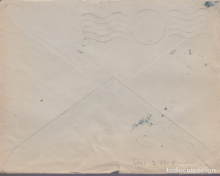 Sellos: F24-96-Carta AZUAGA Badajoz 1938.Local y Censura - Foto 2 - 121938171