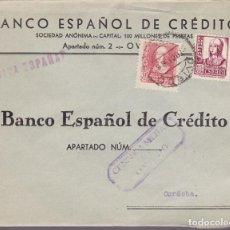 Sellos: F24-97-CARTA OVIEDO 1938. LOCAL Y CENSURA . Lote 121938247