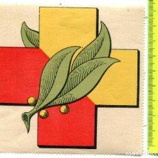 Sellos: FRENTES Y HOSPITALES, 100 X 101MM, ALLEPUZ 19, RRR *. Lote 122064803