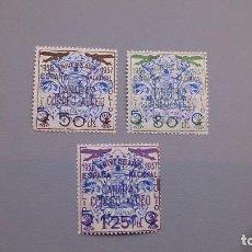 Sellos: ESPAÑA - 1937 - CANARIAS - EDIFIL 31/33 - SERIE COMPLETA - MNH** - NUEVOS.. Lote 122119907