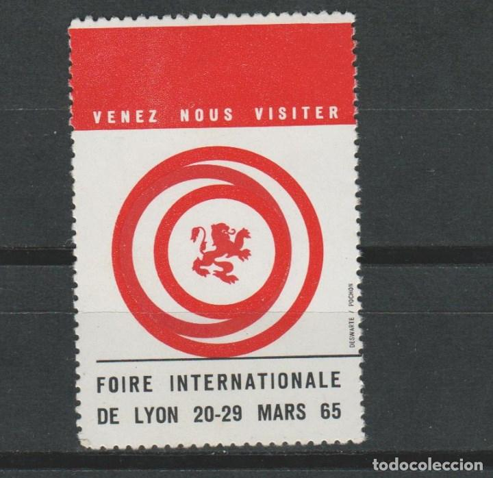 LOTE B SELLOS VIÑETA LYON 1965 (Sellos - España - Guerra Civil - Viñetas - Usados)