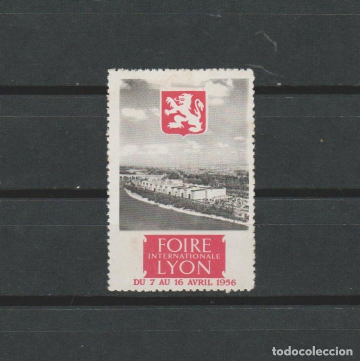 LOTE B SELLOS VIÑETA FERIA LYON 1956 (Sellos - España - Guerra Civil - Viñetas - Usados)