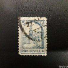 Selos: ESPAÑA. GUERRA CIVIL. PRO SEVILLA. 5 CTS. Lote 122834706