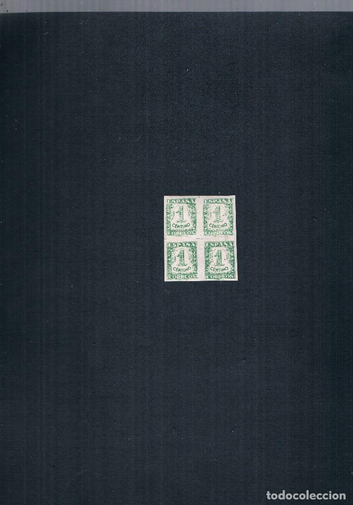 Sellos: COLECCION DE SELLOS JUNTA DE DEFENSA NACIONAL EN BLOQUE DE CUATRO 1936/37 Nº 802 AL 813 - Foto 2 - 122992043