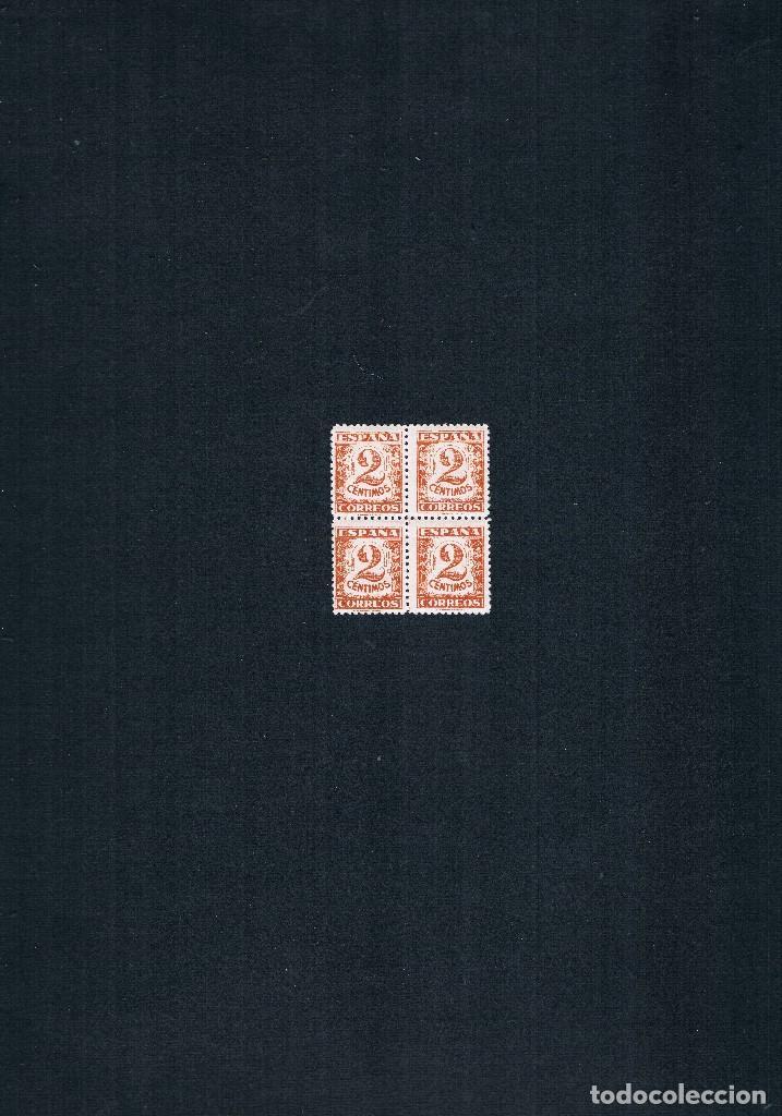 Sellos: COLECCION DE SELLOS JUNTA DE DEFENSA NACIONAL EN BLOQUE DE CUATRO 1936/37 Nº 802 AL 813 - Foto 3 - 122992043