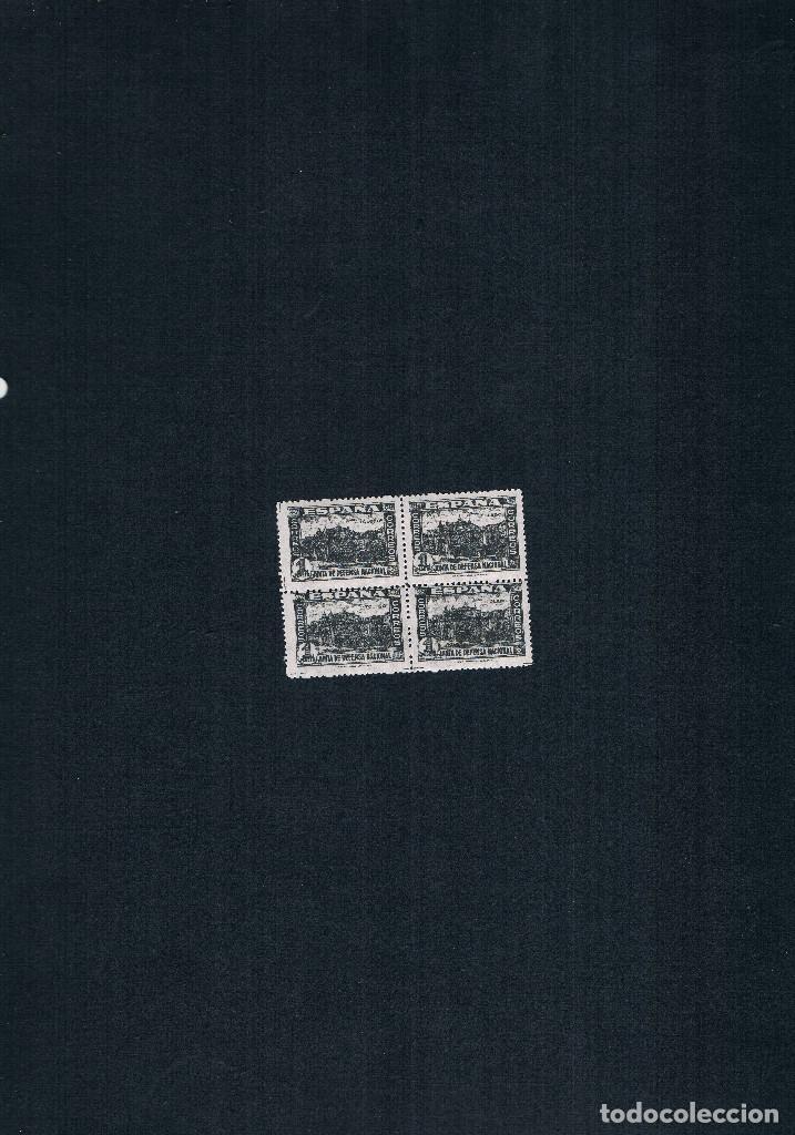 Sellos: COLECCION DE SELLOS JUNTA DE DEFENSA NACIONAL EN BLOQUE DE CUATRO 1936/37 Nº 802 AL 813 - Foto 11 - 122992043