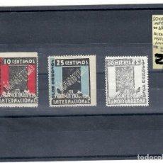 Sellos: ESPAÑA REPÚBLICA.AÑO 1935.SOCORRO ROJO INTERNACIONAL/ALZAMIENTO ASTURIANO.. Lote 124198051