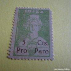 Sellos: PRO PARO IBIZA, 5 CENTIMOS. Lote 124295463