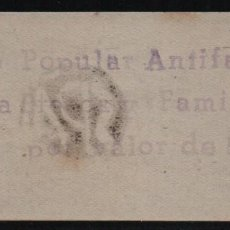 Sellos: GRANADA, 5 PTAS. SOCORRO POPULAR ANTIFASCISTA, ALLEPUZ Nº 10, VER FOTO. Lote 124603335