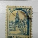 Sellos: SELLO PRO SEVILLA 5CTS . Lote 124644695