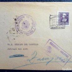 Sellos: BURGOS SALAMANCA ZARAGOZA 1938 CUARTEL GENERALÍSIMO MINISTERIO INTERIOR SERVICIO PROPAGANDA . Lote 125062715