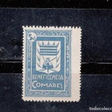 Sellos: COMARES. BENEFICENCIA. 5 CTS.. Lote 125990455