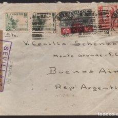 Sellos: CARTA, CIRCULO LABRADORES DE SEVILLA, VER FOTOS. Lote 126126847