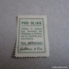 Sellos: PRO OLIAS, 5 CTS, BENEFICENCIA SOBRE CORREOS, GUERRA CIVIL ESPAÑOLA. Lote 127865407