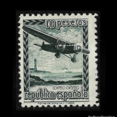 Sellos: 1939. AVIÓN EN VUELO.10P.MNH EDIFIL NE 38. Lote 128006419