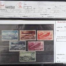 Sellos: 775/80** - CORREO SUBMARINO 1938 (NUEVO SIN SEÑAL DE FIJASELLOS). Lote 128450519