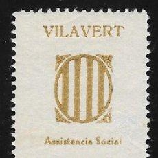Sellos: VILAVERT (TARRAGONA) GOMEZ GUILLAMON NUM. 1429*. Lote 128457255