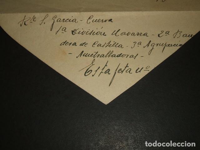 Sellos: CARTA CIRCULADA DE CUERVA TOLEDO A MADRID CENSURA BANDERA DE CASTILLA FALANGE BURGOS - Foto 2 - 128570163