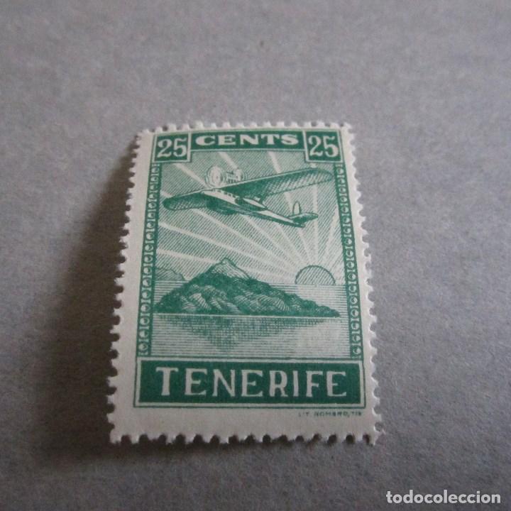 VIÑETA GUERRA CIVIL - TENERIFE 25 CENTS (Sellos - España - Guerra Civil - De 1.936 a 1.939 - Nuevos)