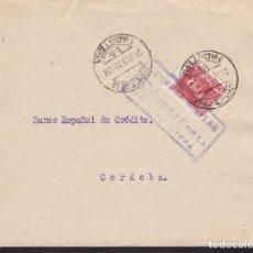 Sellos: F3-87- GUERRA CIVIL CARTA JEREZ DE LA FRONTERA (CÁDIZ ) 1938.LOCAL Y CENSURA . Lote 128723203