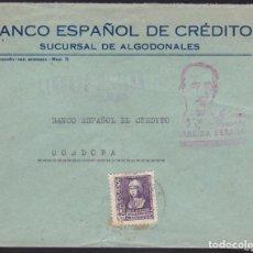 Sellos: F3-96- GUERRA CIVIL CARTA ALGODONALES (CÁDIZ) 1939. LOCAL Y CENSURA . Lote 128726939