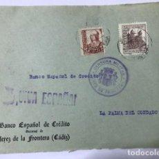 Sellos: JEREZ DE LA FRONTERA CENSURA MILITAR FRONTAL DE SOBRE. Lote 129564379
